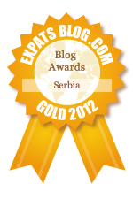 I won the 2012 Expat Blog Gold Award