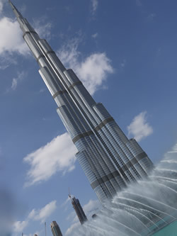 Room with a view: Burj Khalifa and dancing fountains