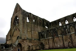 Spectacular and stunning Tintern Abbey in South Wales.