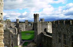 At Caernarfon Castle, there is much to see and explore!