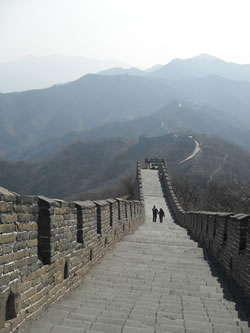 Great Firewall easier to pass than this wall!