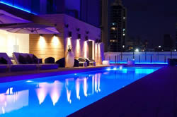 Rooftop Pool at Manray Hotel