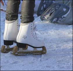 Get your ice skates on and experience winter like the locals