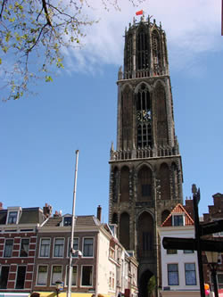 The bells of the Domtoren can be heard throughout the city