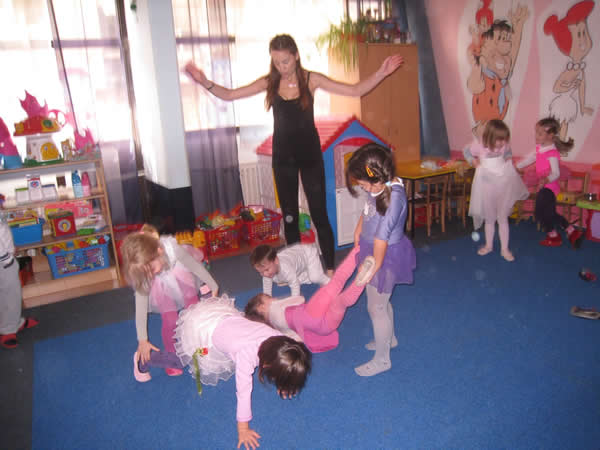 Teaching Dance At My Kids Preschool Mostly Fun But As Evidenced By The Semi Chaos It Is Often An Exercise In Futility Thanks To Poor Serbian Language