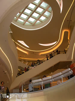 Hysan Place, Causeway Bay. 17-floor Shopping mall with nearly 120 top brands