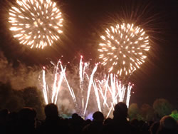 Guy Fawkes fireworks London