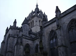 St. Giles Cathedral along The Royal Mile, Edinburgh