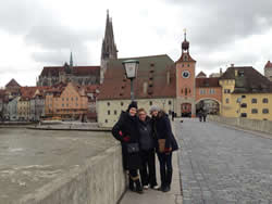 My two best friends here, Taylor and Helena on a day trip to Regensburg