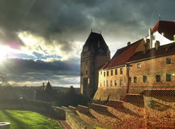 Trausnitz Castle located in Landshut, Germany. This was my first trip as an expat living in Germany, I was completely stunned! Plus, I managed this great picture :)