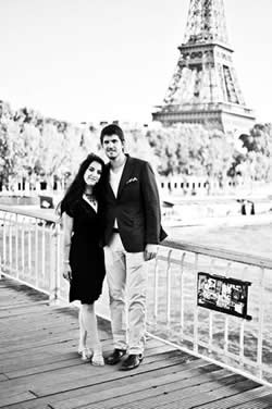 My husband and I on an excursion to Paris for our 9th anniversary last year.