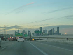 Houston skyline - it's gorgeous at any time of the day or night!