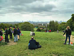 View of London from Parliament Hill