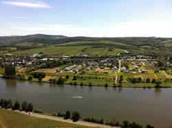 Overview of my village and The Mosel