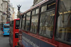 Taking the bus is a great way to see London for cheap and learn how different parts of town are connected to one another.