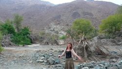 Exploring mountains and wadis