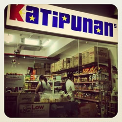 Katipunan, a popular Filipino chain of stores in Singapore.