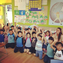 Teaching in Korea! My kind of happiness