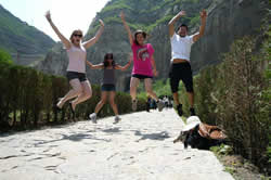 Group of me and my friends in Datong