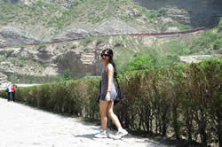 Me in Datong, Shanxi province, near the Hanging Monastery