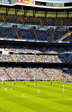 You haven't experienced Madrid until you've watched Real Madrid play at the Santiago Bernabeu