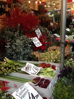 Columbia Road Flower Market - one of my favorite markets in London for all seasons.