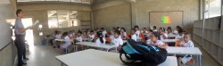 A typical classroom in my school. Average class size is about 40 screaming 7-year-olds.