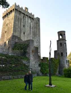 Some of our travels outside of Turkey include Ireland. We loved the Blarney Castle and grounds!