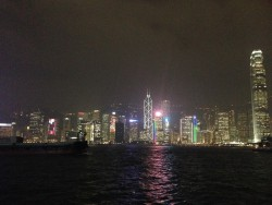 The Hong Kong skyline never gets old