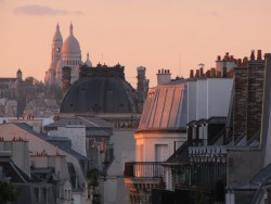 Not much beats a sunset over the rooftops of Paris