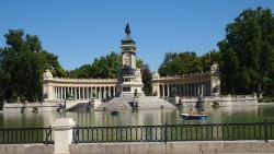 Visit el Retiro park in Madrid. It is stunning!