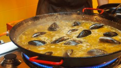 Paella in Barcelona at a cooking Class with Cook & Taste. It was so much fun!