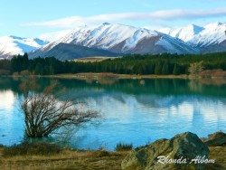 Lake Tekapo in the early winter on the South Island, New Zealand