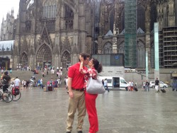 Köln with the husband