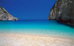One of the hundreds of beautiful Greek beaches