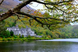 One of our many trips....this is from Ireland and the Kylemore Abbey in western Ireland