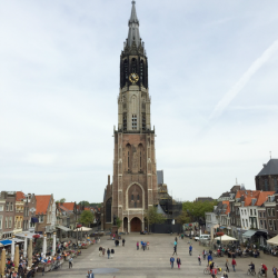 The New Church in Delft Centrum