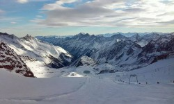 Stubai Ski Area and Stubaital Valley near Innsbruck