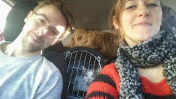 This is leaving France, with Sardine our cat