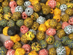 typical ghanaian beads