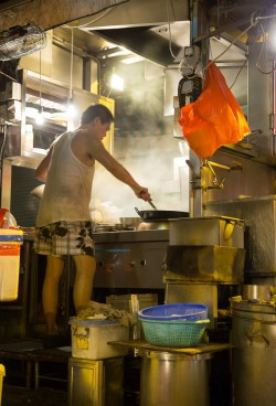 Hong Kong is a city of contrasts. Dai pai dongs, or street food stalls flourish next to upscale international restaurants.