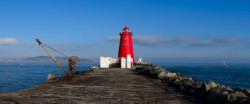 Poolbeg Lighthouse - a stroll along the Great South Wall is a must