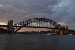 Only one of Sydney's wonderful sights: The Harbour Bridge
