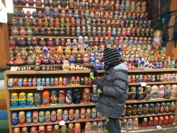 Matryoshka dolls heaven