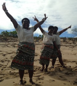Bula - get used to hearing the happy Fijian greeting of BULA!
