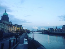 Walking along the Liffey never gets old