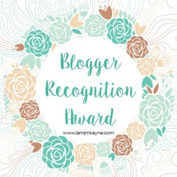 Blogger Award. As blogger, I have been a member of many blogging groups and this year I've grabbed 2 awards including this.