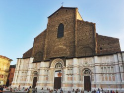 San Petronio, the biggest church in Bologna
